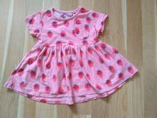 Šaty s jahůdky, next,68