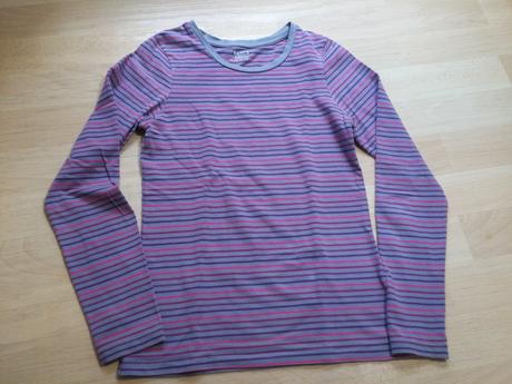 Tričko pruhované , basics,164