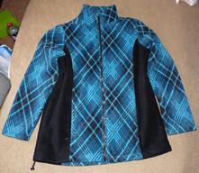 Flísová bunda s podšívkou, l