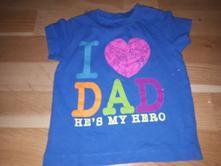 Tričko milují tátu vel. 68, next,68