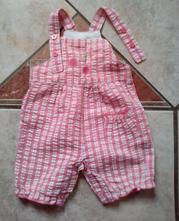 Letní kojenecké kalhotky s laclem, tu,62