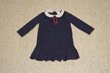 Dívčí modré šaty jasper conran, 86, 86