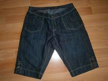 Riflové tříčtvrťáky kalhoty po kolena kraťasy, 42