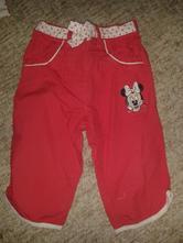 Letní kalhoty s minnie , disney,74