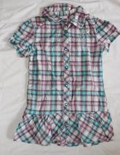 Op695. košilové šaty 6-7 let, dopodopo,122