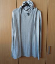 Šedý svetr svetřík kardigan cardigan, colours of the world,m