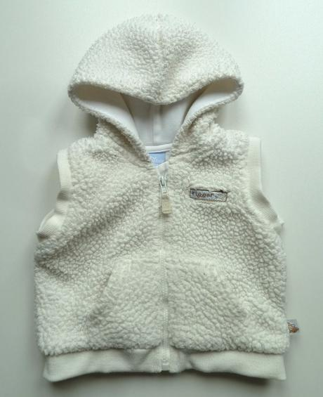 Teplá huňatá vesta vestička s kapucí vel 68 disney, disney,68