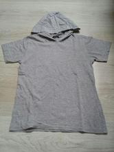 Šedé tričko george s kapucí, george,140