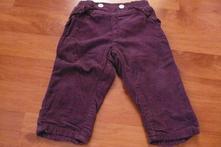 Kalhoty - manžestráky, lupilu,62