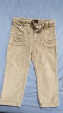 """""""sametové"""" kalhoty, old navy,92"""