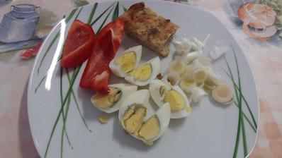Svacina-vejce,hlavicka,kapie,porek