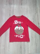 Vánoční tričko, m&co,116