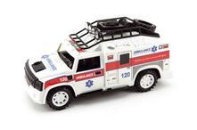Auto ambulance na setrvačník 25 cm,