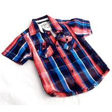 Bavlněná košile, kos-0005-05, oshkosh,92 / 98