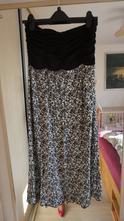 Variabilní květovaná sukně-maxisukně-šaty moon, l