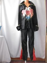 karnevalový bláznivý kostým-2 dílný, 44