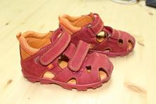 Kožené sandálky, elefanten,24
