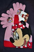 Zimní čepice a rukavice s minnie disney,na 1-5let, disney,80 - 110