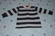 Silnější triko s límečkem, lindex, lindex,104