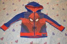 98/104 bavlněná mikina s kapucí, zn. spiderman , marvel,104
