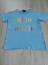 Modré tričko next s nápisem , next,116