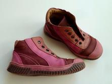 Kožené kotníčkové botasky boty v. 29 stélka 19,5cm, 29