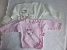 2 x kojenecký kabátek, tričko, 62
