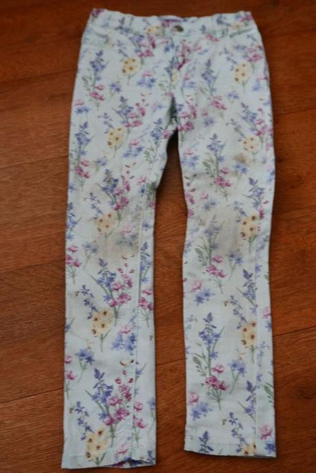 Dívčí kalhoty, f&f,128