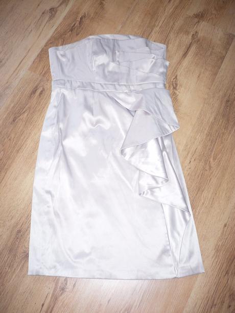Smetanové šaty, vel. 40/42, 40