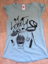 Triko, tričko s kamínkama c&a 158/164, c&a,158