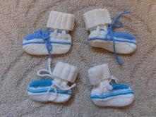 Pletené papučky, <17