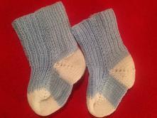 Dětské pletené ponožky, 17