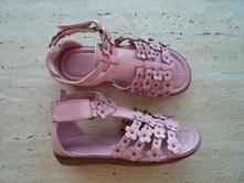 Růžové boty botičky sandály sandálky deichmann, deichmann,30
