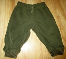 Flaušové kalhoty, zara,68