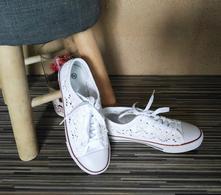 Bílé dámské tenisky, vel. 39, 39