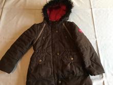 Dívčí zimní bunda/kabát, vel. 110, topolino,110