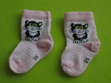 Ponožky s kočkou - akce 2+2 ponožky zdarma, 18