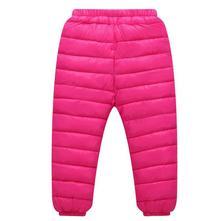 Dívčí zimní kalhoty / oteplovačky (růžové), 92 / 98 / 104