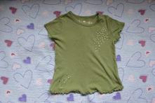 Zelené triko s kamínky, 104