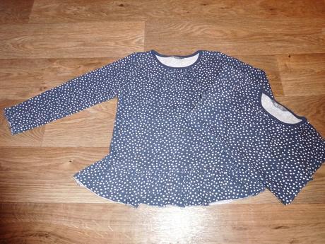 Tunika, tričko vel. 110/116 pro dvojčata, 110