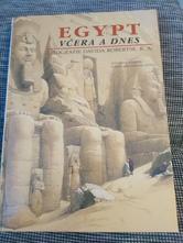 Kniha egypt včera a dnes,