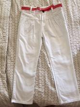 Letní plátěné kalhoty, mothercare,98