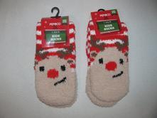 Ponožky-vánoční motiv-2 páry, pepco,26