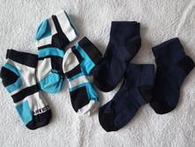 6 párů nízkých  ponožek, decathlon,31