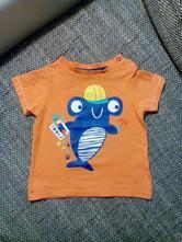 Hezké triko s obrázkem, c&a,80