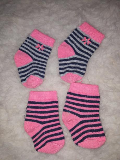 Ponožky pro miminko, dirkje,17