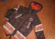 Chlapecká zimní bunda vel. 5-6 let, 116