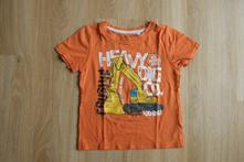 Tričko s bagrem, palomino,98