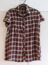 Hnědá károvaná košile, 42