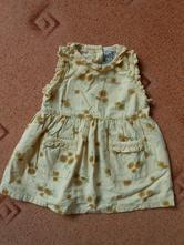 Šaty se slunečnicemi, h&m,68